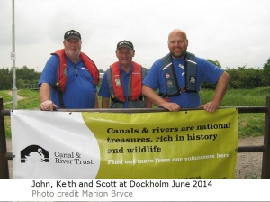 Canal community day Dockholme Scott Keith and John 140614 IMG_0748